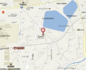 長野県上田市本郷604-2の地図